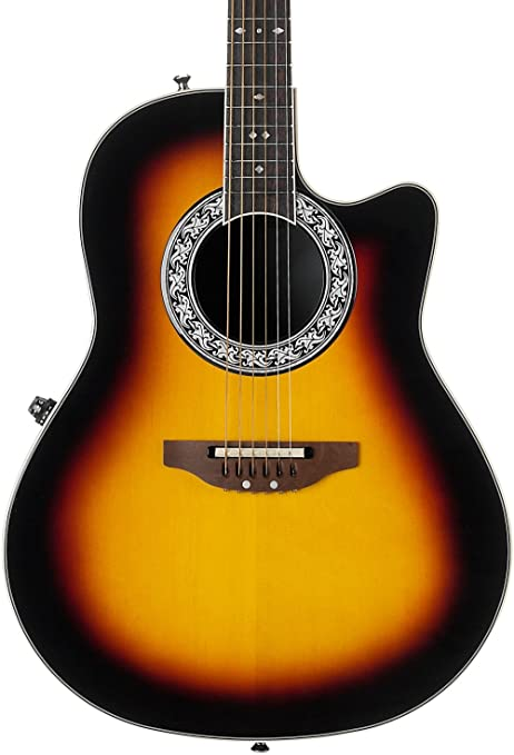 Ovation 1771 VL Glen Campbell firma leyenda Electroacústica guitarra