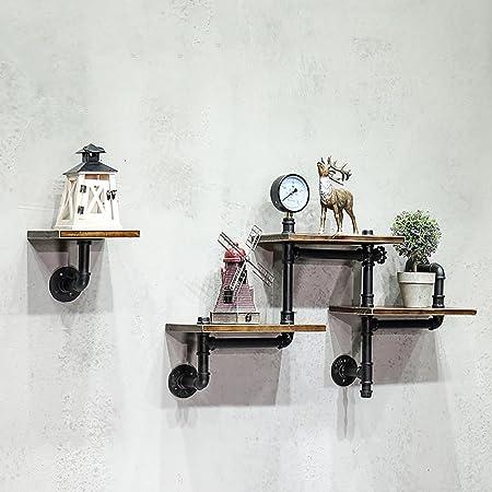 Support de métier rétro à 3 couches fixé au mur, étagère de ...