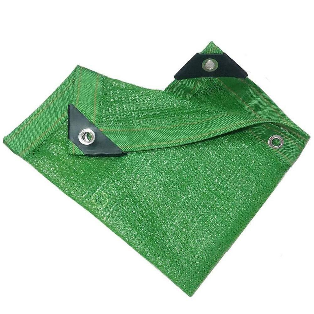 alla moda YANZHEN Rete Parasole Telone Telo Copertura Ombreggiatura Protezione Protezione Protezione Solare 6 Punti Anti età Punzonatura del Bordo Fiori, Personalizzazione della Lunghezza (colore   verde, Dimensioni   3x5m)  negozio online