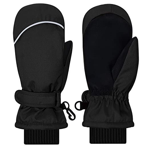 5ca38bcf9 Kids Mittens Gloves, Gallop Chic Girls Boys Toddlers Winter Mitts, Children Thinsulate  Lining Waterproof