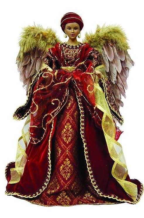 amazon com 16 african american diva angel christmas tree topper