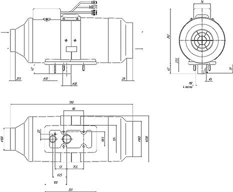 Amazon Com Diesel Air Heater 6 Kw21000 Btuhr 12volt Same As To