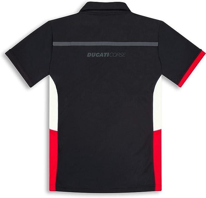 Ducati Corse DC power manga corta camisa de los hombres polo nuevo