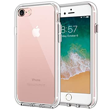 aa663fc5f6 Premium Case for Apple iPhone 8 and iPhone 7, HD Clear [Shockproof Phone  Cases