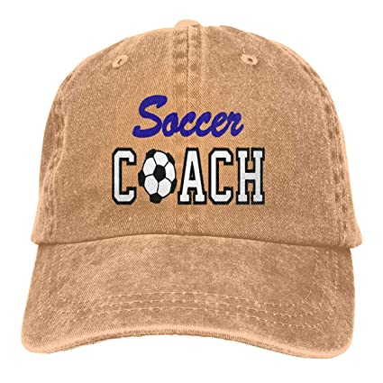 0be2bf3a Amazon.com: William A Magee5 Unisex, Soccer Coach Personality Cap ...