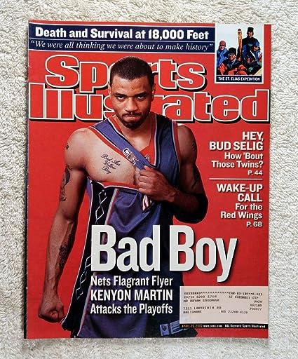 promo code ca0fa bdec1 Kenyon Martin - New Jersey Nets - Sports Illustrated - April ...