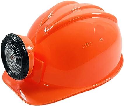 BUSDUGA 2826 - Casco de construcción para niños, color naranja
