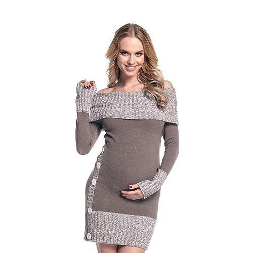 Vestido premamá Happy Mama Boutique (de punto) 913p