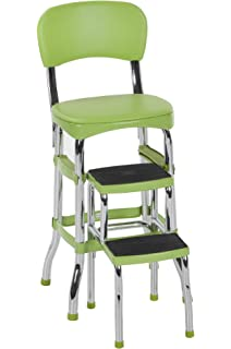 Cosco Green Retro Counter Chair/Step Stool