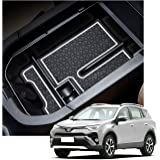YEE PIN 2019 RAV 4 Center Console Tray Organizer Car Glove Box Storage Box Armrest Box Accessories for 2019 2020 RAV 4…