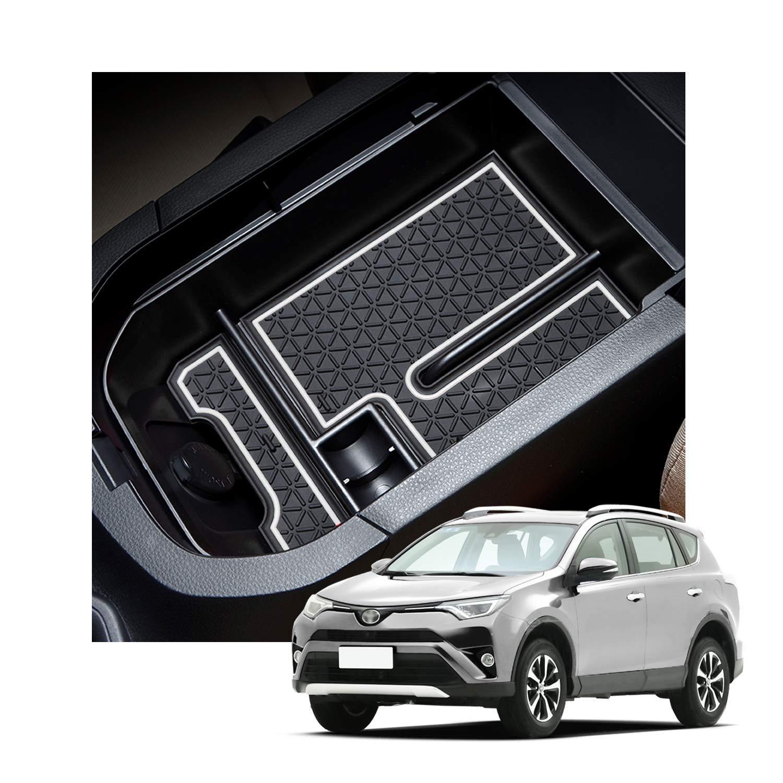 JOJOMARK for 2019 2020 Toyota RAV4 Accessories Glove Box Organizer