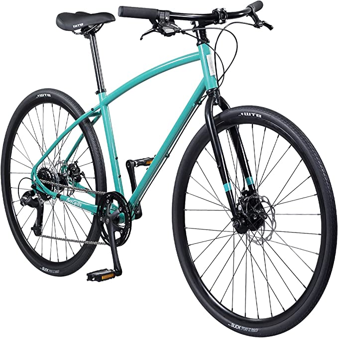 Pure Cycles 8-Speed Urban Commuter Bicycle, 54cm/Medium, Ando Teal
