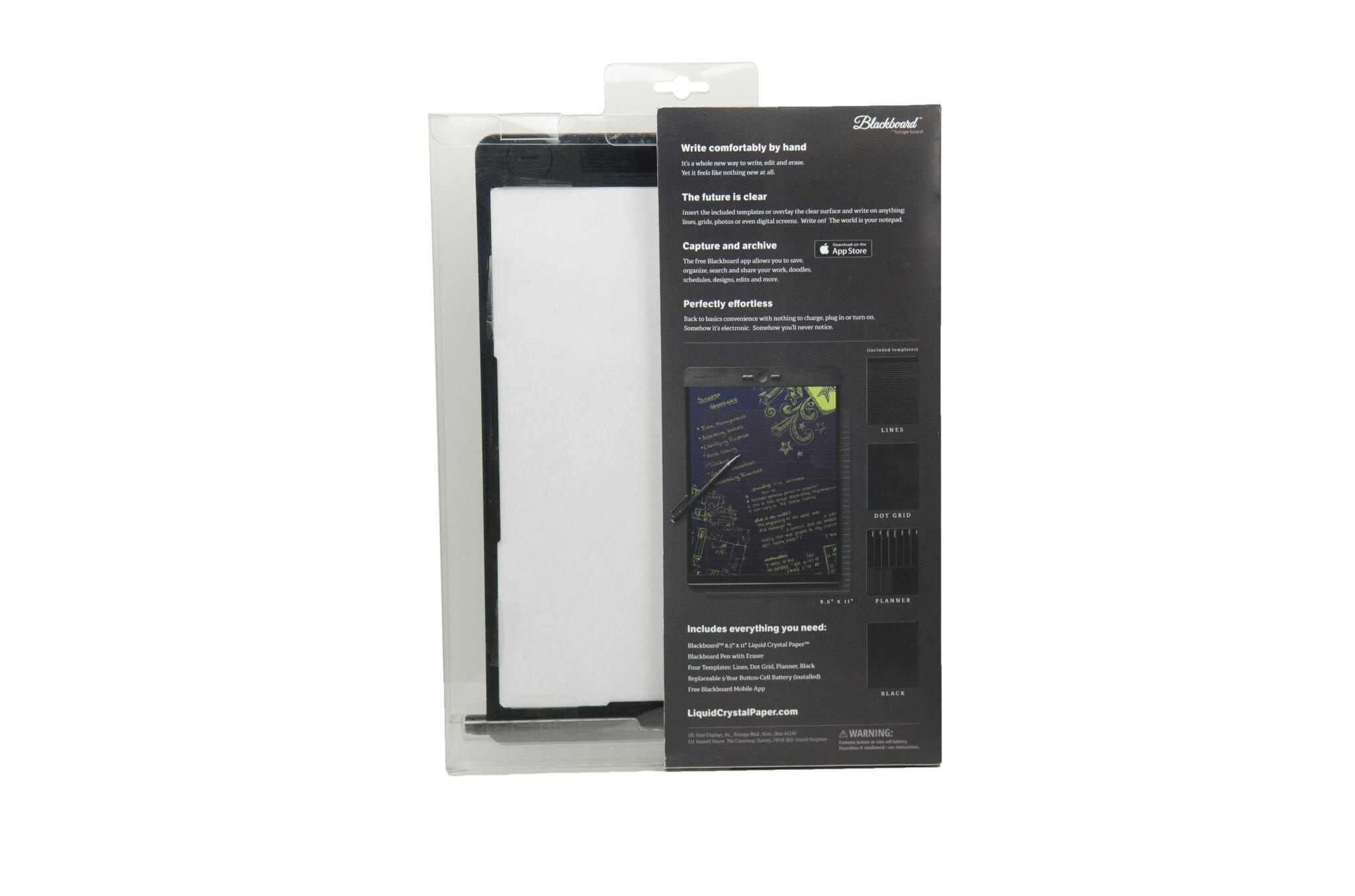 Boogie Board Blackboard Liquid Crystal Paper 8.5x11