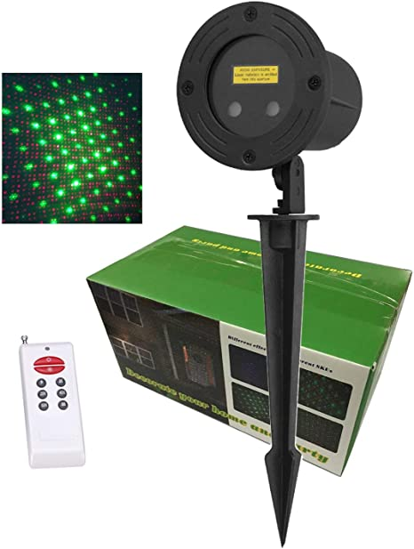 Amazon.com: RGB Moving estrellas Jardín Proyector de luz ...