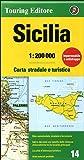 Sicily 14 tci (r) wp (Regional Road Map)