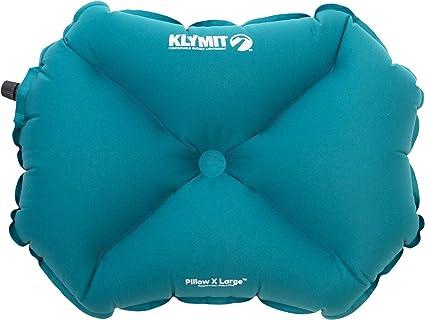 Klymit Oreiller Gonflable Pillow X pour Camping et Voyage