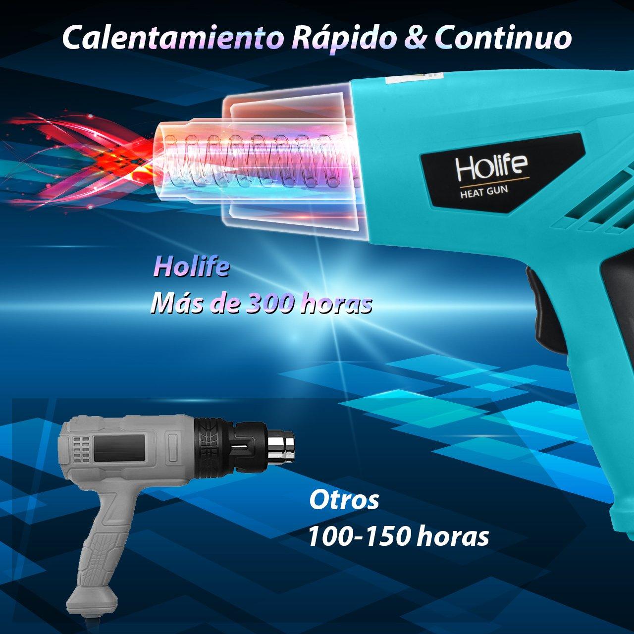 fer /à souder /électrique avec r/églage de temp/érature 90//°C 220/ fonction de bloc temp/érature /écran num/érique /à LED 480//°C Holife Station de soudage 60/W professionnelle