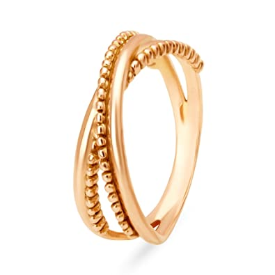Mia by Tanishq 14KT Yellow Gold Ring for Women Rings
