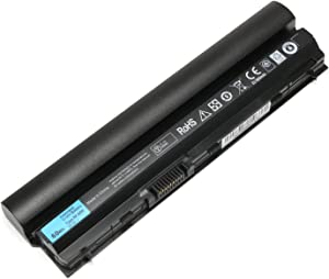 11.1V 60Wh New E6320 Laptop Battery for Dell Latitude E6120 E6220 E6230 E6330 E6430s Series, FRR0G UJ499 TPHRG J79X4 7FF1K Y61CV K4CP5 MHPKF RFJMW - Tinkon