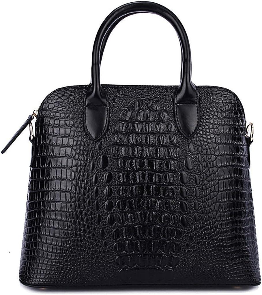 QZUnique Women's Cowhide Genuine Leather Cross Body Shoulder Handle Amphibious Bag