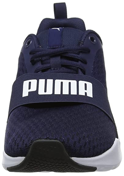 Amazon.com | PUMA Unisex Adults Wired Low-Top Sneakers White | Fashion Sneakers