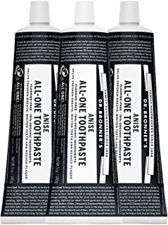 product image for Dr Bronner's Anise All-One Toothpaste, 5 Ounce, Pack of 3