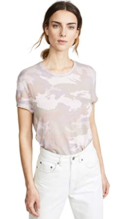 9f816e3c Amazon.com: Zadig & Voltaire Women's Walk Linen Camo T-Shirt: Clothing