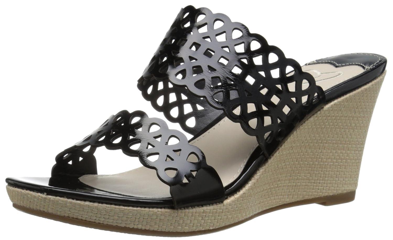 Madeline Women's Cactus Wedge Sandal B00TBHVZXO 9 B(M) US|Black