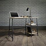 Amazon Com Altra Owen Retro Desk Espresso Teal Kitchen
