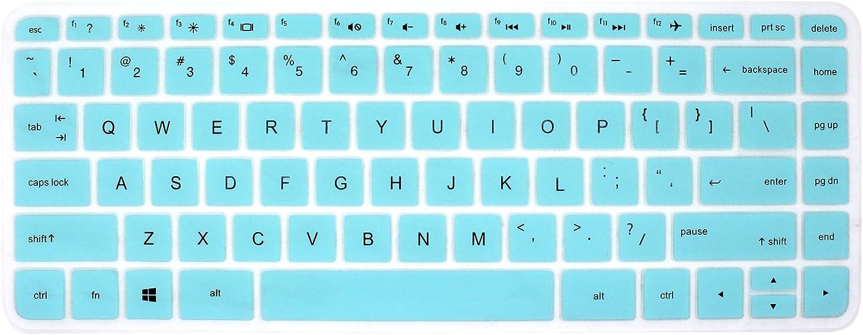 Silicone Keyboard Cover Skin for 14 inch HP Pavilion 14-ab 14-ac 14-ad 14-an, HP Stream 14-ax, HP ENVY 14-j0 Series, 14-ab010 14-ab166us 14-ac159nr 14-an010nr 14-an013nr 14-an080nr (Mint Green)