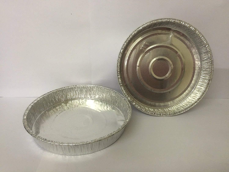 100 x Round Pie Foil (6.5