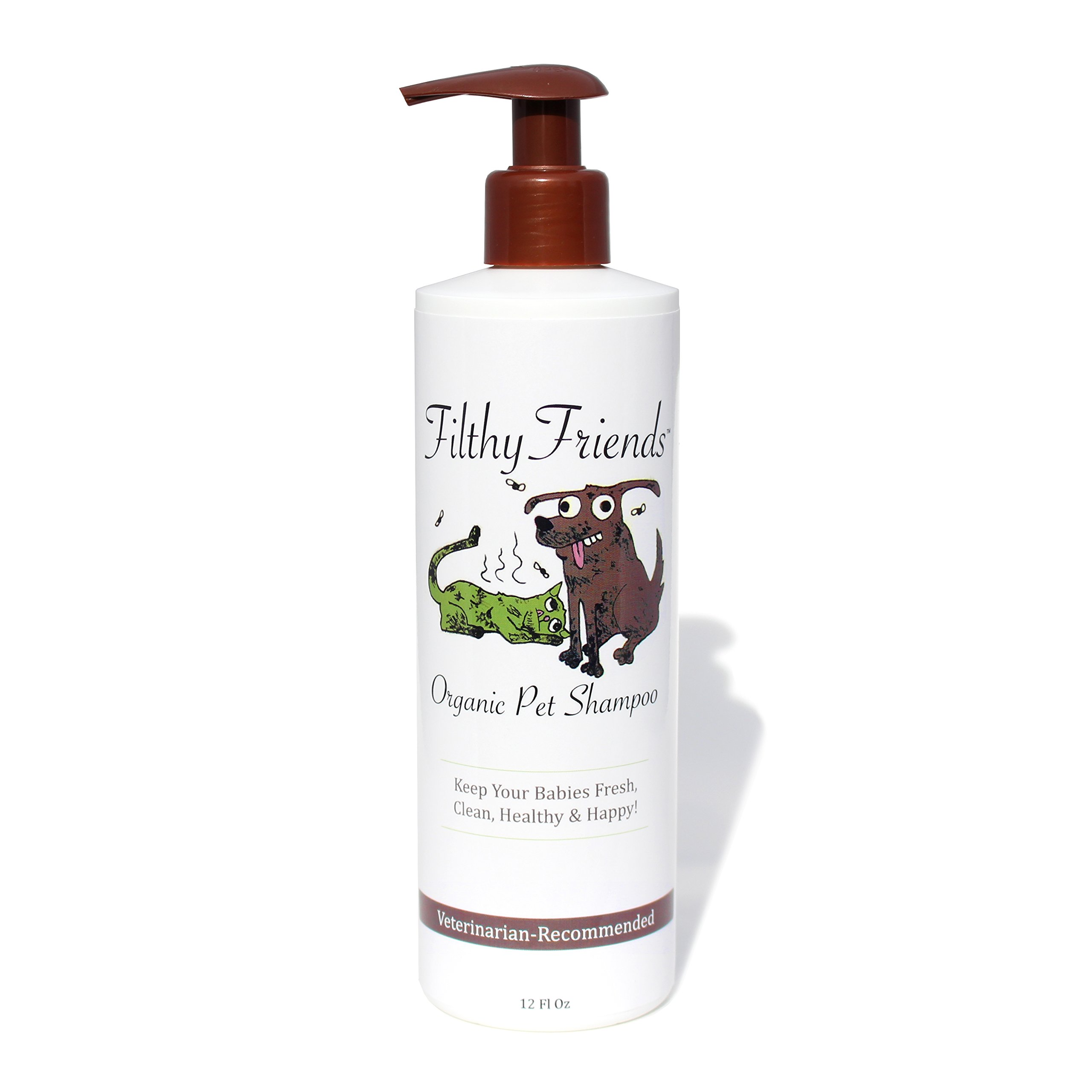 Pet Shampoo - Easily Removes Odors, Dirt & Itchy Dander