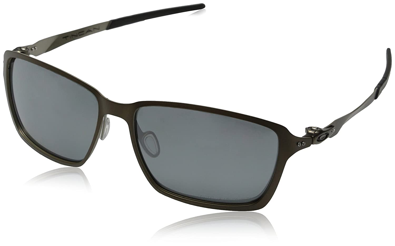 Oakley - Gafas de sol Rectangulares Tincan, Pewter/Black ...
