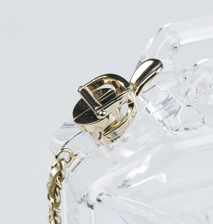 fc55c5b9c36f2c Amazon.com : New Chanel Plexiglass Jerrycan Minaudiere Bag with Shoulder  Strap : Baby