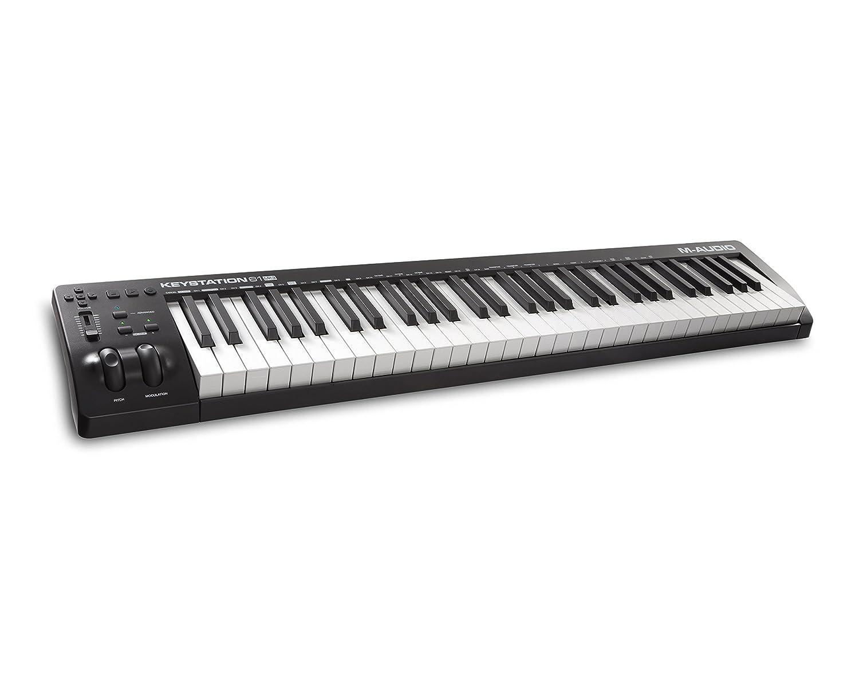 M-Audio Keystation MK3 61-Key Midi Keyboard Controller