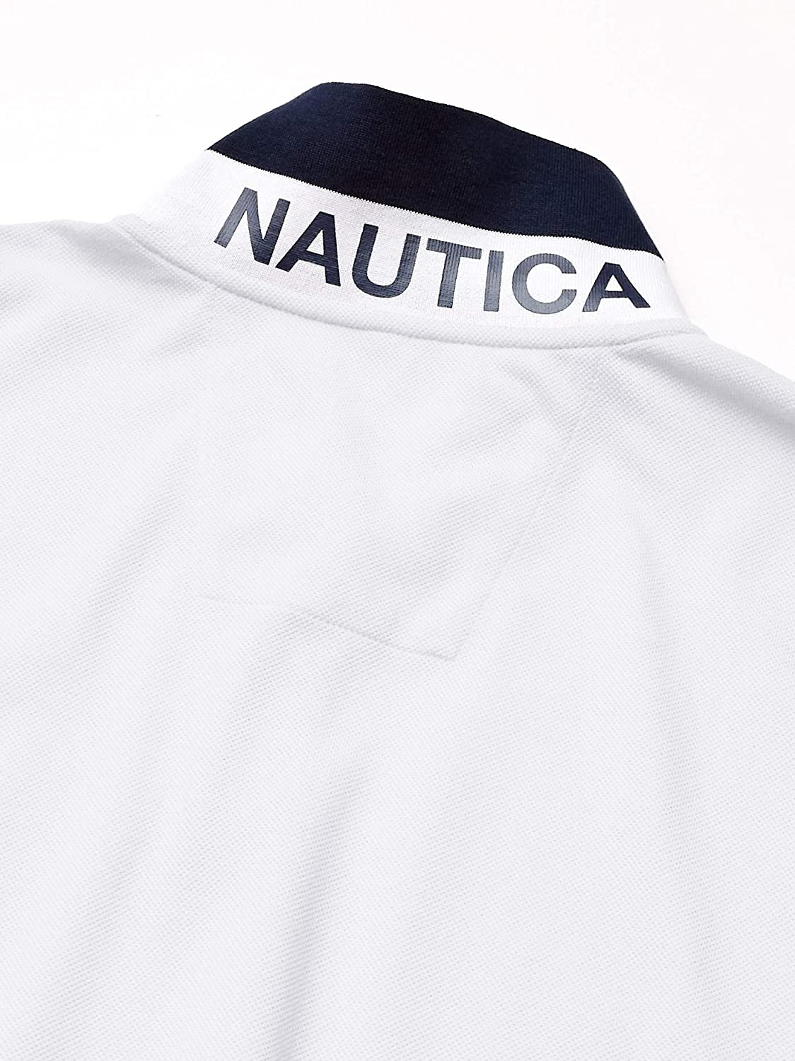 Nautica Mens Classic Fit Short Sleeve Performance Pique Polo Shirt Polo Shirt
