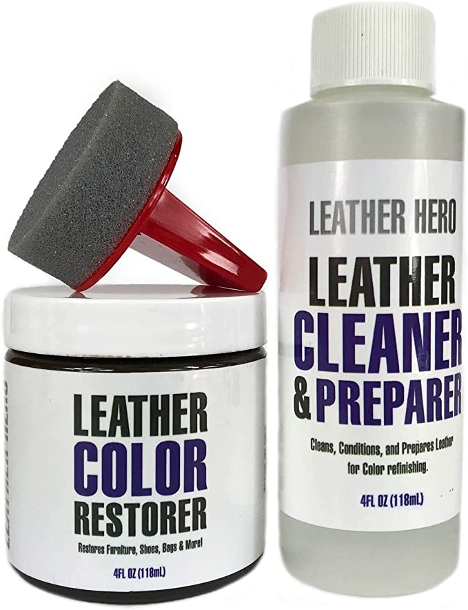 bianca 2pcs Advanced Leather Repair Gel,Leather Conditioner and Restorer,Restores Color Faded Scratched Leather for Sofas//Car Seats etc