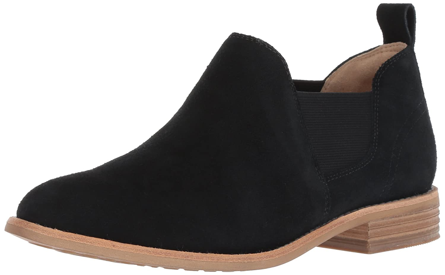 CLARKS Women's Edenvale Page Fashion Boot B077YDWZQ8 050 M US|Black Suede