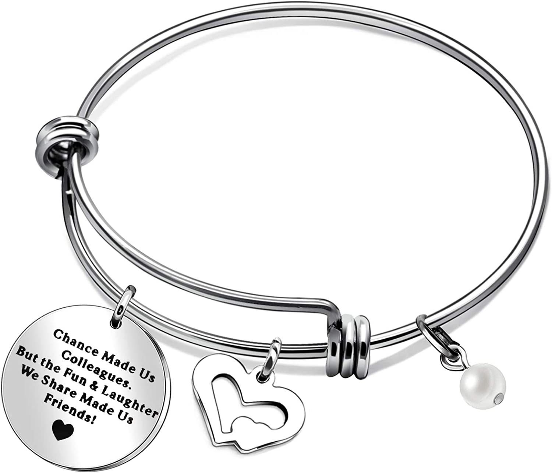 BHXRODE - Pulsera de la amistad ajustable para amigas y amigas, regalo de despedida de soltera, regalo de cumpleaños para mujeres