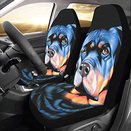 Artsadd Big Dog With Sad Eyes Fabric Car Seat Covers Set Of 2 Best