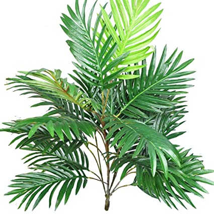 Amazon.com: MARJON FlowersArtificial Plants Palm Leaves ... on