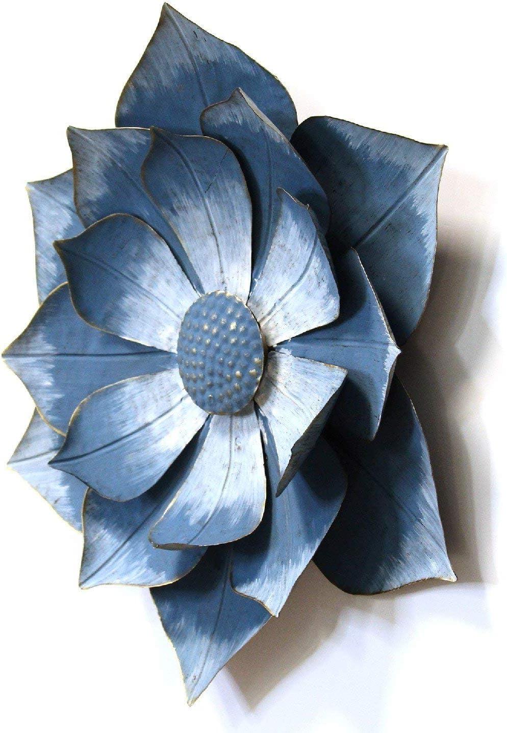 Extraordinaire  Mot-Clé Stratton Home Décor Stratton Home Decor Blue Ipomoea Metal Flower, 32.32