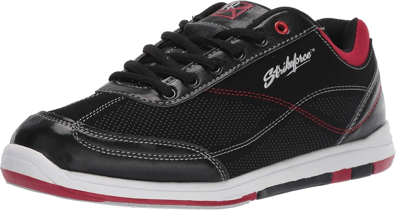 KR Strikeforce M-037–105Titan Chaussures de Bowling, Noir/Salsa, Taille 10.5