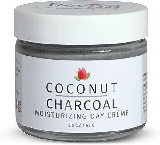 Reviva Labs Coconut Charcoal Moisturizing Day Crème 2.0 oz