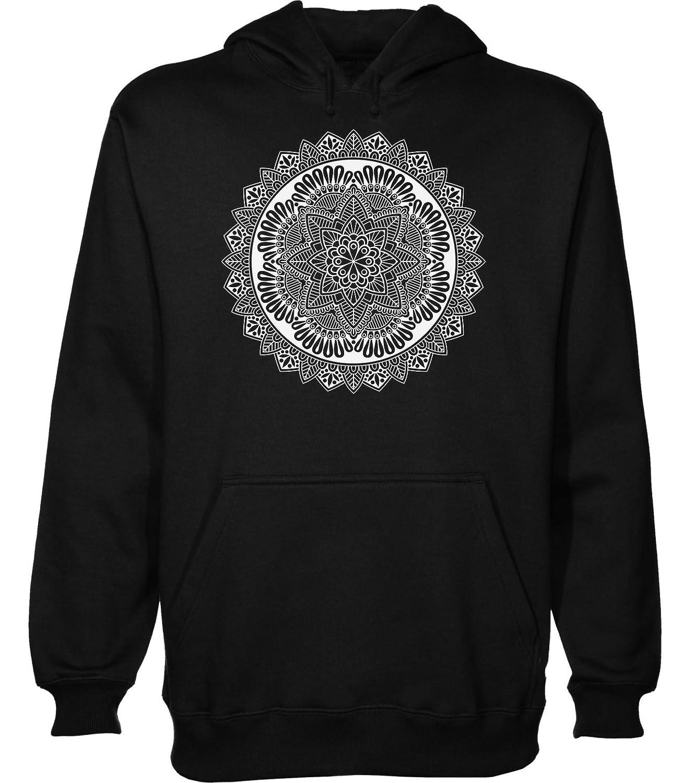 IDcommerce Geometrical Shape Made of Lines and Dotts Mens Womens Unisex Sweatshirt