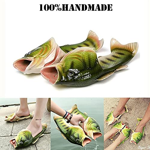 3f64e4d45502 Image Unavailable. Fish Animal Slippers Summer Beach Sandals Shower Slippers  Non-Slip Funny Beach Shoes Wear For