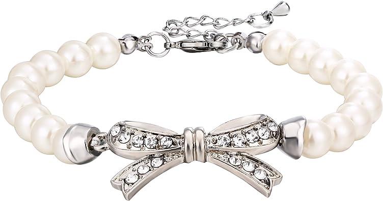 bracelet femme mariage perle
