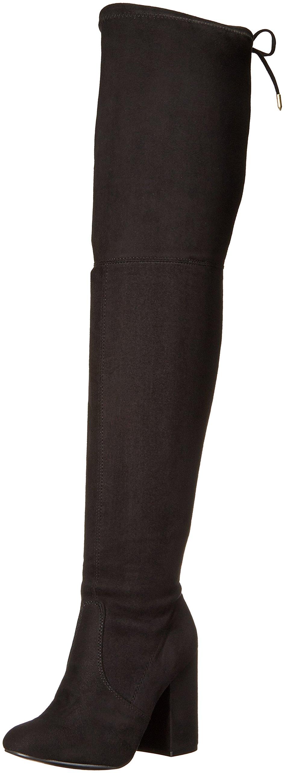 Steve Madden Women's Norri Harness Boot, Black, 6.5 M US by Steve Madden