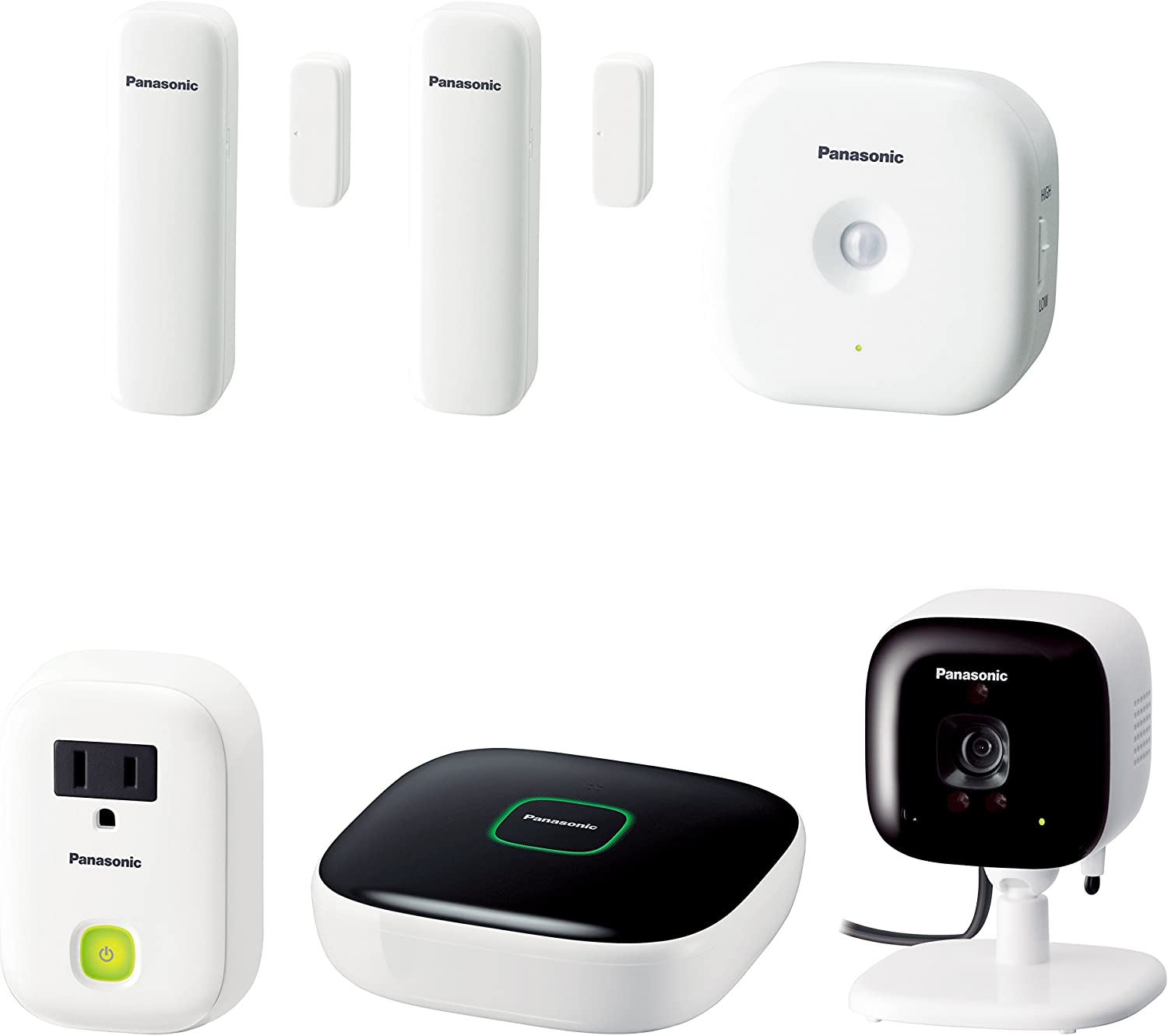 Panasonic KX-HN6022W Smart Home Monitoring Kit (White) Discontinued