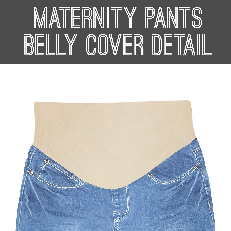 Hybrid /& Company Super Comfy Stretch Womens Skinny Maternity Jeans Light WASH-M